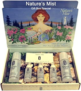 Natures Mist- Face Moisturizer and Cosmetic - Gift Set