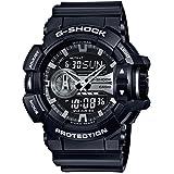 [カシオ] 腕時計 ジーショック GA-400GB-1AJF ブラック