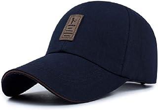 قبعة بيسبول رياضة للجولف بتصميم بسيط ولون واحد وزر كباس في الخلف للارتداء في الخارج