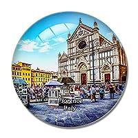 イタリアフィレンツェマーケットアウトドアチャーチ冷蔵庫マグネットホワイトボードマグネットオフィスキッチンデコレーション
