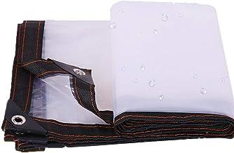 LIXIONG dekzeil dekzeil waterdicht regenbestendig transparant slijtvast PVC ,23 grootte kan worden aangepast (kleur : held...