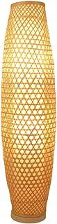 Lampadaire Lampadaire en Bambou tissé à la Main de Style Japonais, Salon, Salle d'étude, Chambre à Coucher, Lampe de Lectu...