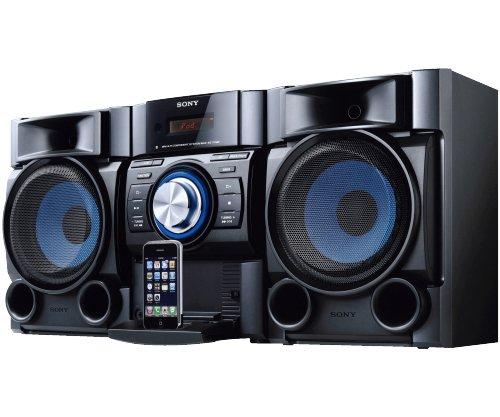 Sony MHCEC709iP Mini Hi-Fi Shelf System (Discontinued by Manufacturer),Black