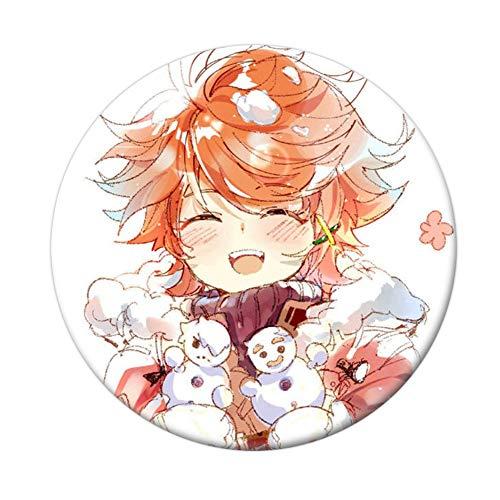 Yuxareen Anime The Promised Neverland Cosplay Abzeichen Cartoon Brosche Pins Sammlung Taschen Button Abzeichen für Rucksäcke(H20)