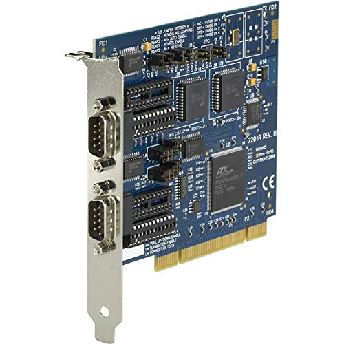 Check Out This Black Box RS-232/422/485 PCI Card, 2-Port, 16550 UART - Plug-in Card - PCI - PC, PC