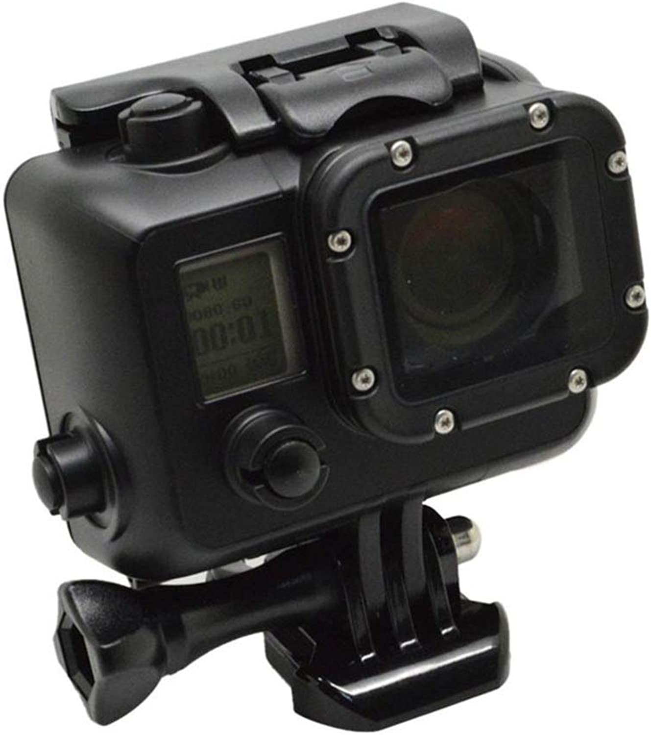 DuDuDu Black 40m Diving Waterproof Case Frame Housing Predective Shell for Gopro Hero 3 3+ 4 Sport Action Camera