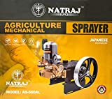 Natraj AS-560AL Gold Line Japanese Technology Tractor Mounted/Motor Operated Agriculture Sprayer Pump for Farming and Plants with 8 Inch Pulley