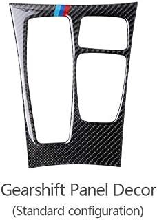 per X5 E70 HIGH FLYING X6 E71 2008-2013 Cornici dei Interno Volante Plastica ABS Colore Fibra di Carbonio 2 pezzi