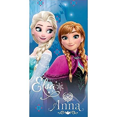 La Reine des Neiges Serviette de plage - Drap de bain - Frozen Disney Elsa Anna