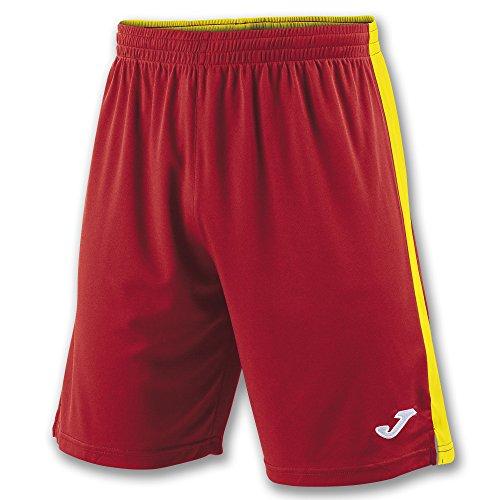 Joma Tokio II, Pantaloni Corti Uomo, Multicolore (Rosso/Giallo), 6XS-5XS