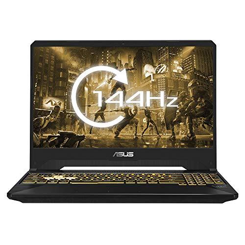 ASUS TUF FX505DT 15.6 Inch Full HD 144 Hz Gaming Laptop (AMD Ryzen 5 3550H, Nvidia GeForce GTX 1650 4 GB, 8 GB RAM, 512 GB M.2 NVMe PCIe 3.0 SSD, Windows 10)