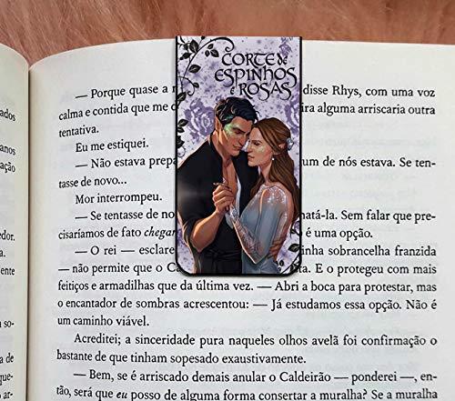 Marca Pagina Magnetico Corte de Espinhos e Rosas