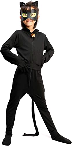 más descuento Inception Pro Infinite Traje Traje Traje - Chat negro - Niños - Carnaval - Halloween - Cosplay - Masquerade (Talla XL 9-10 años)  Entrega rápida y envío gratis en todos los pedidos.