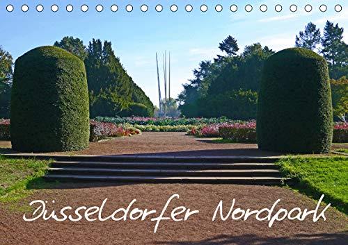 Düsseldorfer Nordpark (Tischkalender 2021 DIN A5 quer)