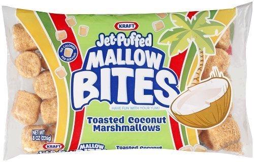 Food Kraft JetPuffed Toasted Coconut Marshmallows