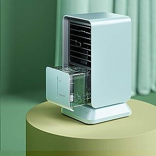 Ventilador portátil de Aire Acondicionado, Enfriador de Aire, Ventilador de Escritorio, evaporador, humidificadores de Vapor frío, circulador de Aire con Temporizador 2H / 4H / 6H