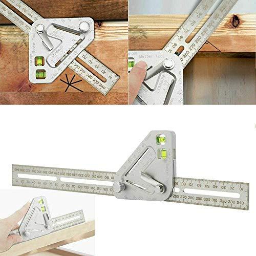 Holzbearbeitung Dreieck Lineal Multifunktionale Holzbearbeitung Dreieck Lineal Revolutionäre Tischlerei Werkzeug Messwerkzeuge