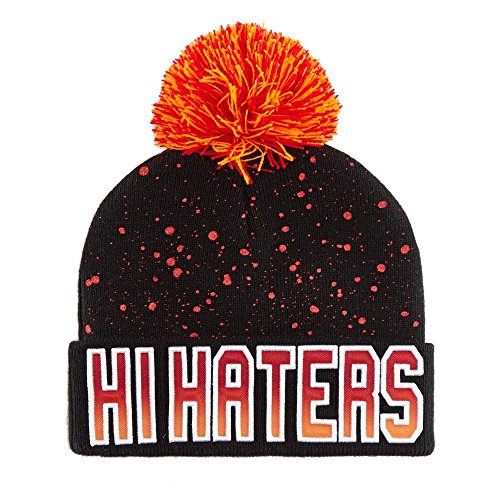 Cayler And Sons - Bonnet Homme Hi Haters Pom Pom Beanie - Black/Fading Red