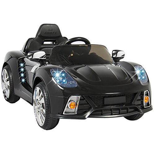 Best Choice Products 12V Kids Battery Powered Remote Control Electric RC Ride On Car w/ LED Lights, MP3, AUX - Red