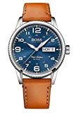 Hugo Boss Herren Quarz Uhr mit Armband 1513331