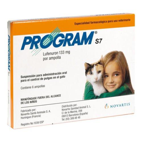 Novartis 002837 Program S7 Gato - 6 Ampollas