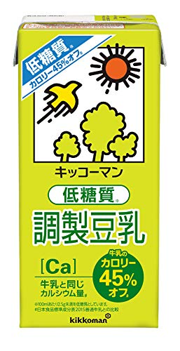 キッコーマン 低糖質調製豆乳 1000ml ×6本