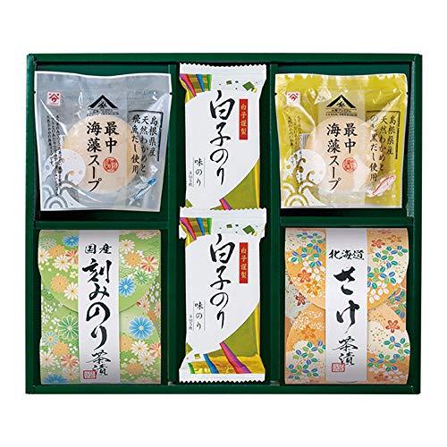 Shirakonori(白子のり) 茶漬 味之庵〜のど黒最中スープ付〜(2662-25)