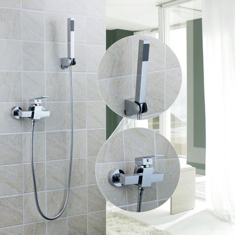 Maifeini Badezimmer Badewanne Armatur Mit Flexiblem Duschkopf 97097 Bad Mit Dusche Waschbecken Messing Wasserhahn, Mischer Und Hhne, Wei