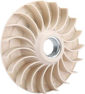 Ventilador del generador de gasolina de 3 piezas, ventilador del motor de gasolina 1.5-2.8KW Accesorios de la cuchilla del ventilador del estator aptos para 168F/170F
