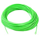 M MAXIMUMCATCH Maxcatch Floating Shooting Line/Running Line with Front Loop.026'' .032'' .037'' .042'' (Lime Green, 0.037'' / 20lb)