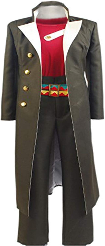 Cosplay JoJo/'s Bizarre Adventure Kujo Jotaro Costume Suit Marine Uniform Outfit