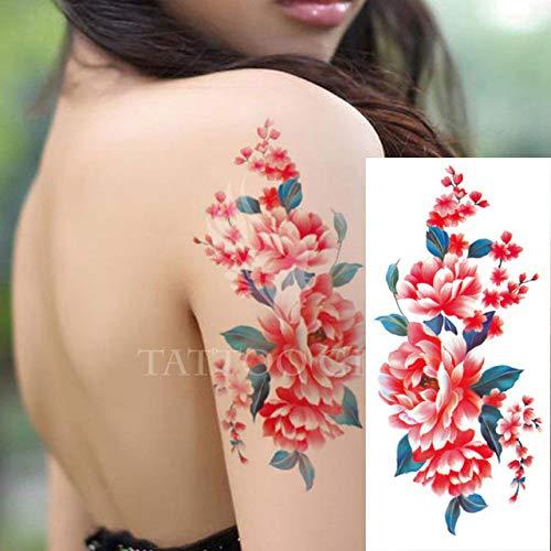 7pcs Pieza del tatuaje etiqueta YinParty noche de la gallina de bricolaje decoración tatuaje