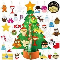 🎄 Fai da te IL TUO ALBERO DI NATALE: Il pacchetto include 30 pezzi di ornamenti natalizi in diverse forme e colori, fiocchi di neve, pupazzo di neve, cervi, caramelle, calze, stelle e scatole regalo, ecc. Il bambino può decorare il proprio albero di ...