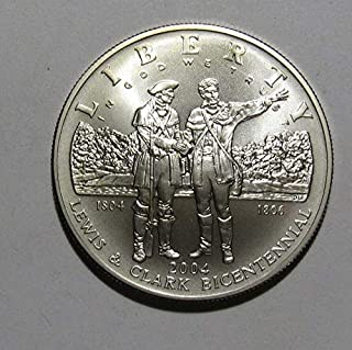 2004 p lewis & clark silver dollar