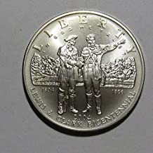 2004 P Lewis and Clark Bicentennial Commemorative Brilliant Uncirculated Silver Dollar Beautiful BU US Mint
