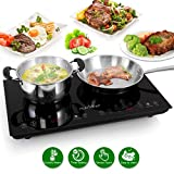 Best Advanced Features: Nutrichef Double Induction Cooktop Flat Cast Iron Pan Compatible Review