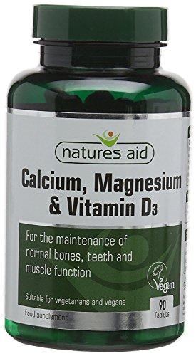 Natures Aid | Calcium Magnesium & D3 Tablets | 2 x 90s
