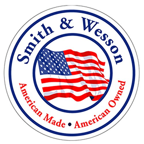 SMITH & WESSON Authentic Since 1852 American Made/American Owned Decal Signature 4