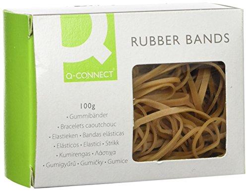 Q-Connect Rubber Band - Gomas elásticas,100 g