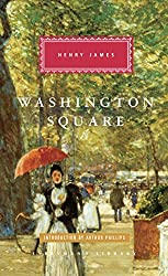 Everyman's Library edition of Washington Square - painting of woman walking in a park