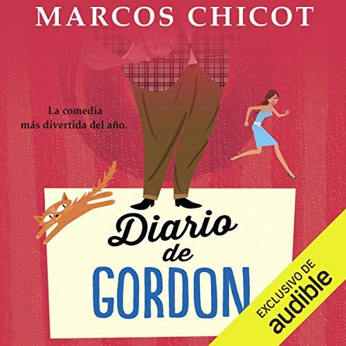 Diseño de la portada del título Diario de Gordon