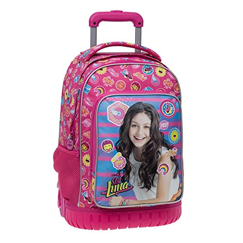 Disney 3392951 Yo Soy Luna Mochila Escolar, 29.57 litros, Color Rosa