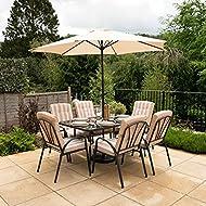 Alium Hadleigh Seater Garden Dining