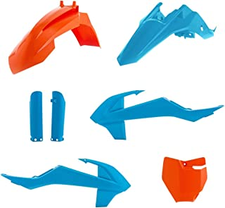 Acerbis 18-20 KTM 85SX TLD Limited Edition Full Plastic Kit (Blue/Orange)