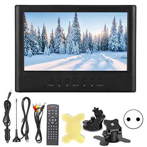 Televisor Socobeta 1080P Televisión TV portátil HD Reproductor de Video analógico Digital de TV con Control Remoto