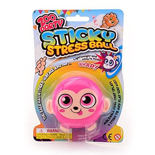 Sticky Stretch Ball Monkey