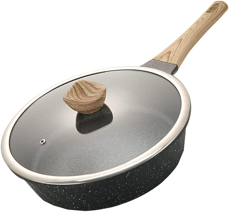 Frying pan Non-Stick Free Shipping New Pan 28CM Fried Thickened NEW before selling ☆ Egg