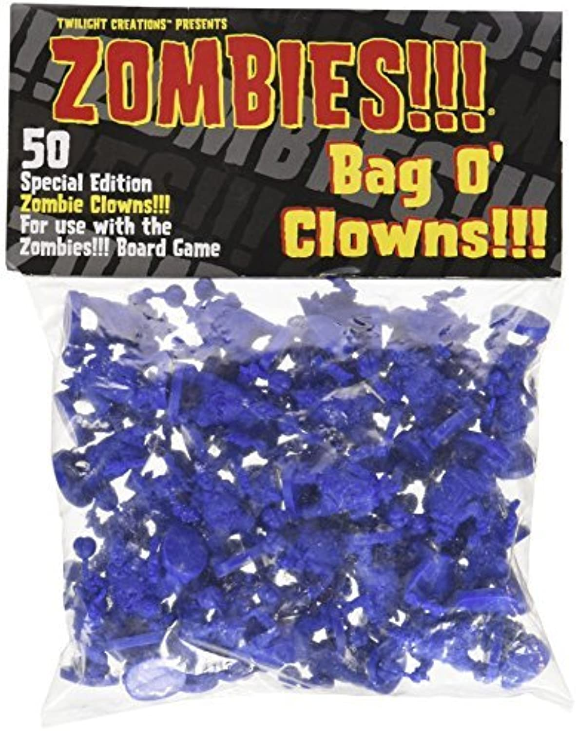 Twilight Creations Zombies Accessory Bag O 'Clowns Board Game by Twilight Creations, Inc