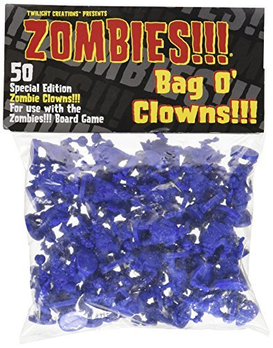 Twilight Creations Zombies Accessory Bag O' Clowns Board Game by Twilight Creations, Inc