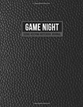 Game Night Score Keeping Notebook Journal: Simple Gaming Log For Many Family Games   Blank Score Sheets Allow You To Determine Players, Rounds, Layout and Tracking (Faux Black Leather)